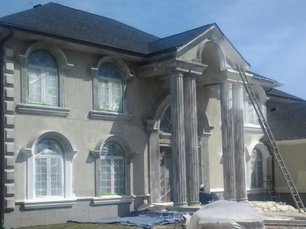exterior painting contractor for stucco barrington