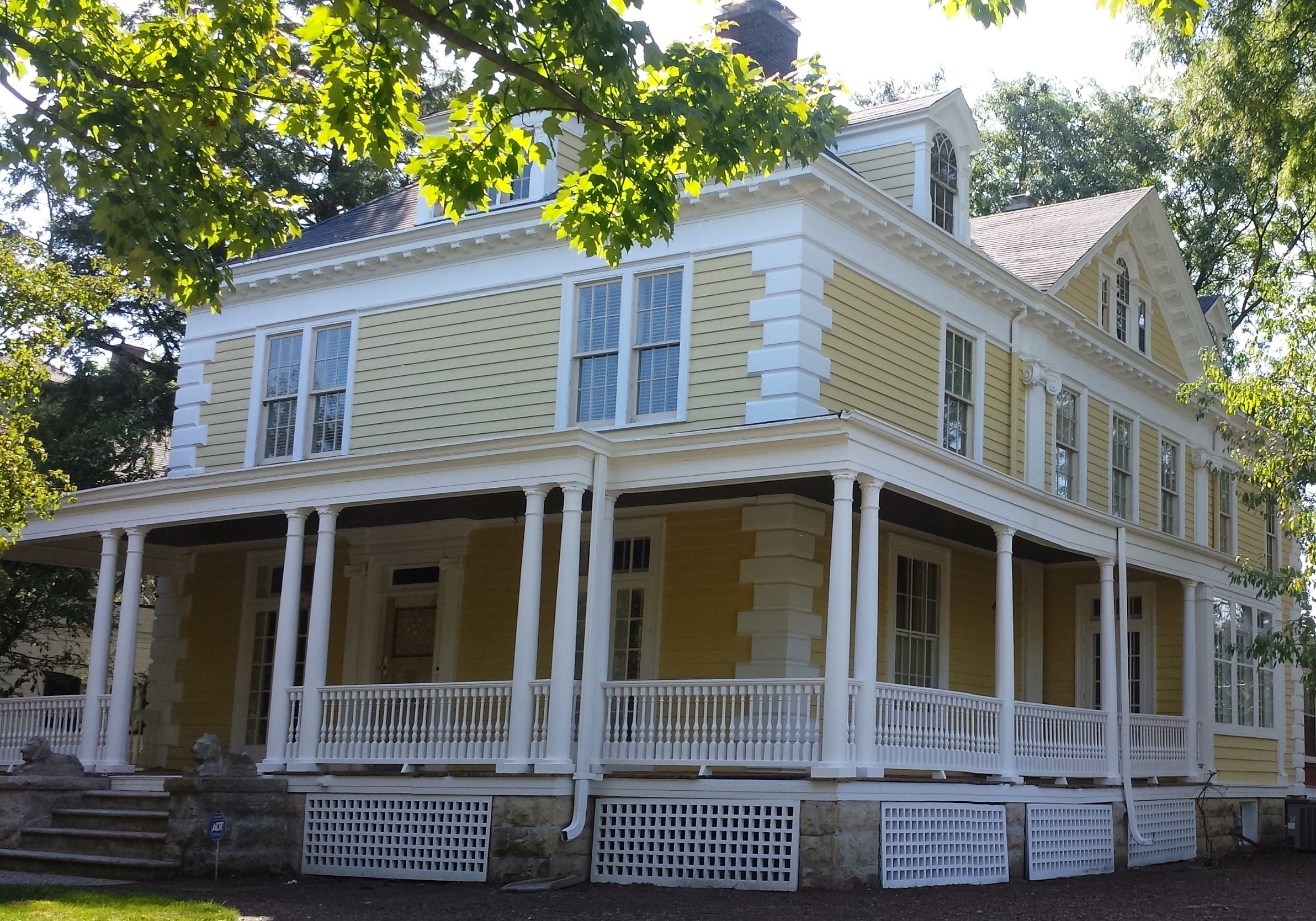 exterior painting for aurora historic home by rhino shield permanent exterior paint contractor