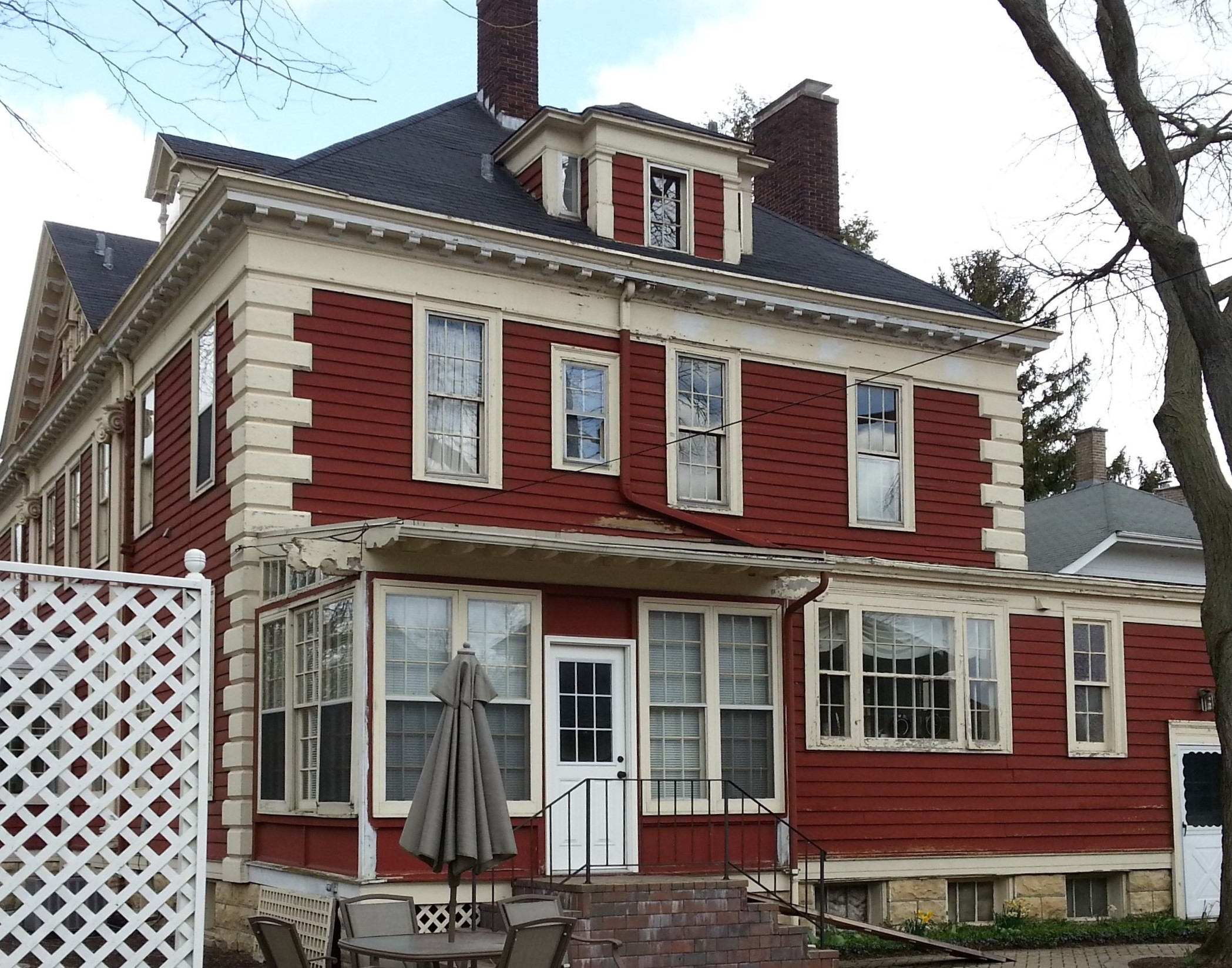 Exterior painting for aurora historic home by rhino shield - Average cost for exterior house painting ...
