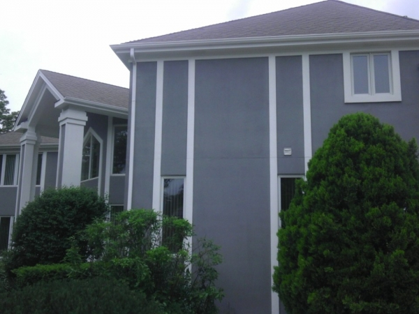 dryvit repair and exterior painting in Inverness dupage county