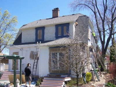 Long Grove Exterior Cedar Siding Paint Restoration