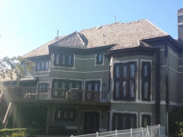 Long Grove Stucco Exterior