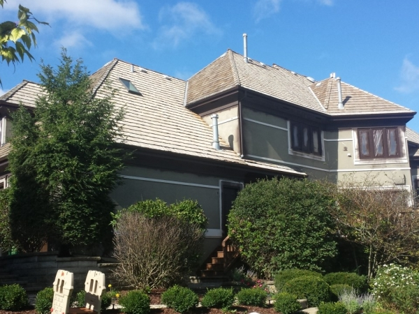 rhinoshield exterior painting project in Long Grove
