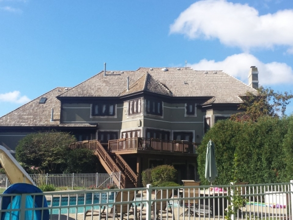 stucco exterior refinishing company in Long Grove