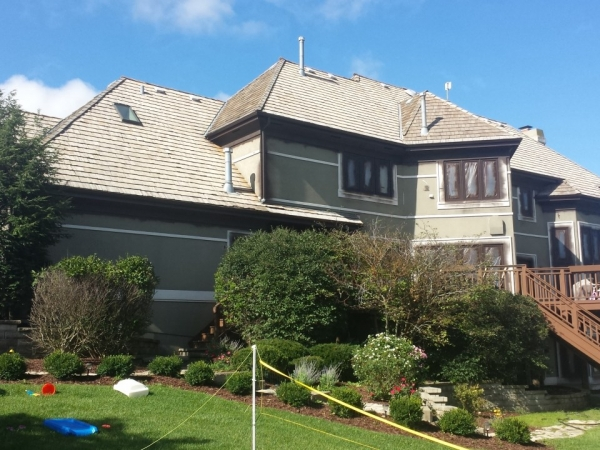 stucco repair and refinishing in long grove